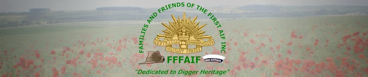 Important dates in Australia's involvement in WW1 http://fffaif.org.au/?page_id=9537