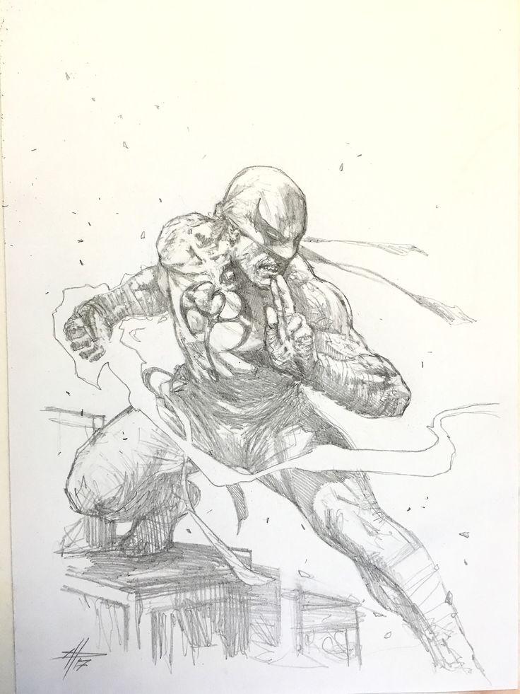 """Iron Fist sketch"""