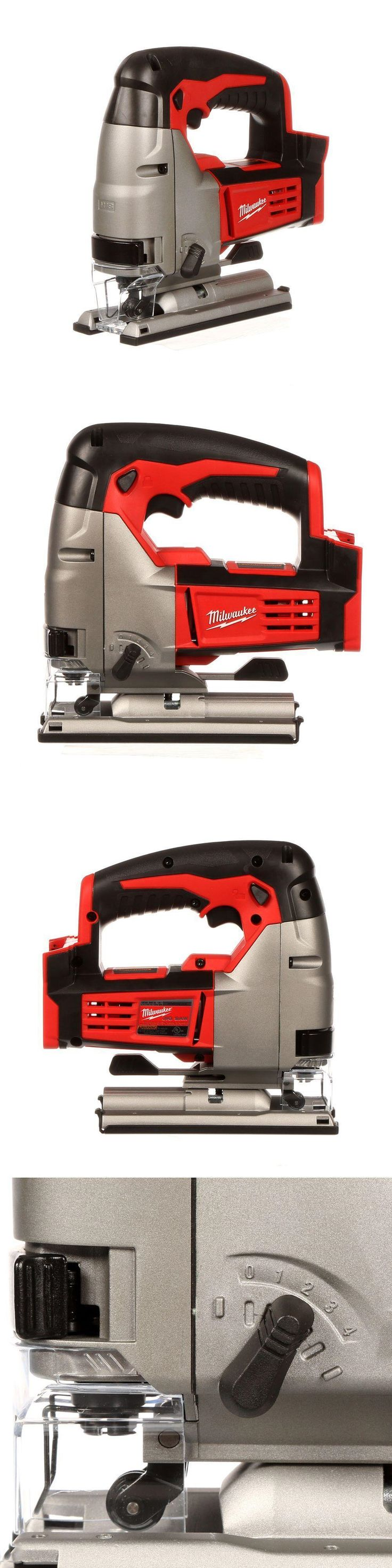 Jig and Scroll Saws 122834: Milwaukee M18 18-Volt Lithium-Ion Cordless Jig Saw (Tool-Only) 2645-20 New -> BUY IT NOW ONLY: $105 on eBay!
