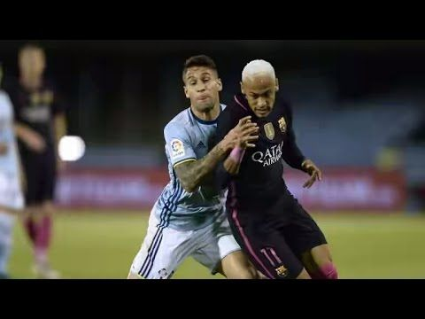 =================== I am niit owner this video================ Orginal  owner is: https://www.youtube.com/watch?v=AflNUQtbmks  Barcelona blew the chance to go top of La Liga as they were stunned by a sparkling Celta Vigo at the Balaidos.  Iago Aspas inspired the hosts into a 3-0 lead at the break setting up Pione Sisto's opener scoring a fine second and forcing Jeremy Mathieu's own goal.  Barcelona fought back through Gerard Pique's header and Neymar's penalty only for Marc-Andre ter…