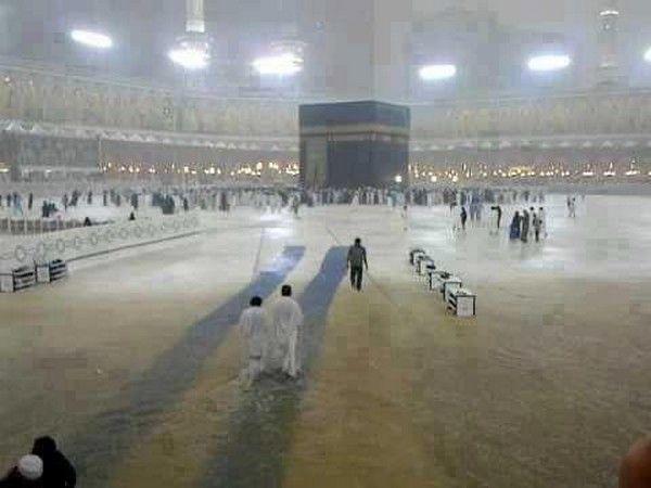 Ya ALLAH Give Us Chance To View Blessings Rain Of Kaaba