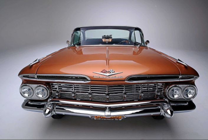 Peachy 1959 Impala Front End Chevrolet Impala 1959 Chevrolet Gmtry Best Dining Table And Chair Ideas Images Gmtryco