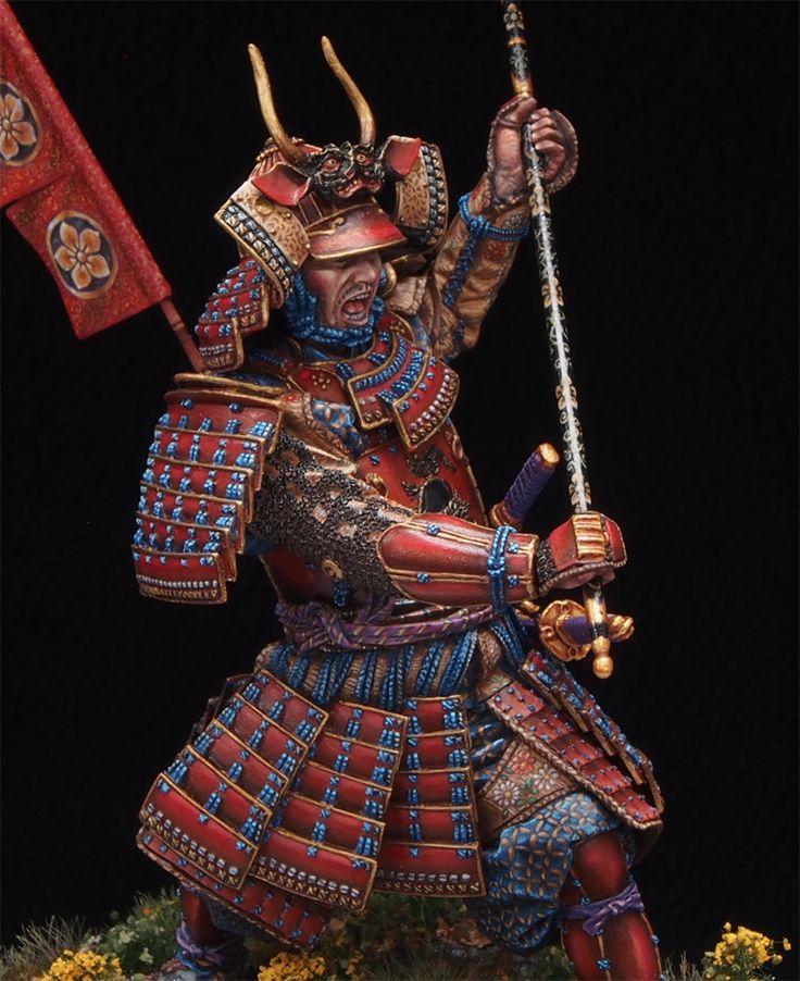 Samurai - custom painted