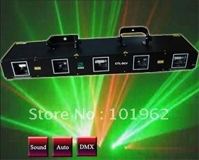 343.29$  Buy now - http://aliodq.worldwells.pw/go.php?t=559325964 - laser light 5 head red+green dj equipment  DJ disco stage lighting show 343.29$