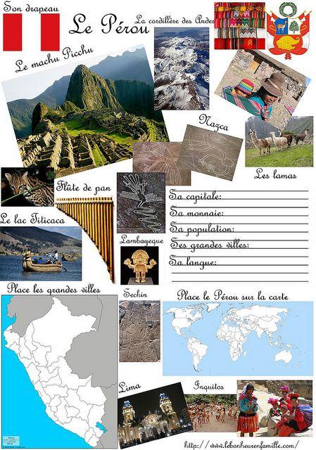 le bonheur en famille Fiche pays Pérou by levoyagedesnainbus, via Flickr
