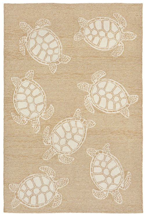 We are loving these brand new sea turtle area rugs! Fun for summer and beyond -