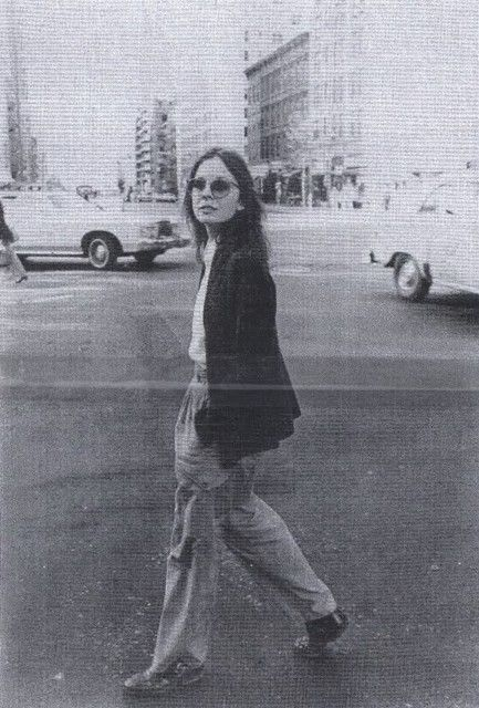 Diane Keaton (Annie Hall) bringing masculinity to womens fashion 1970's