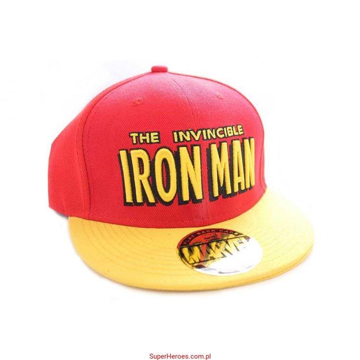 Czapka Iron Man z daszkiem