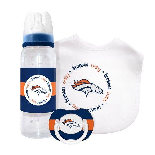 Denver #Broncos Baby Gift Set. - $19.99