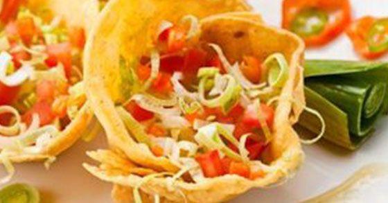 Mini Taco Cups | LushZone