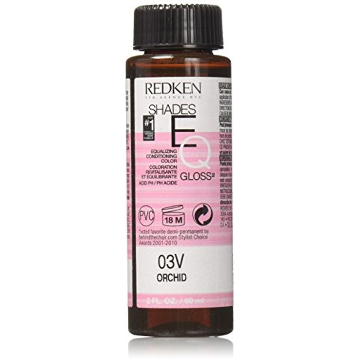 Redken Shades EQ Gloss for Women Hair Color, Orchid, 2 Ounce ** Click image for more details. (This is an affiliate link and I receive a commission for the sales)