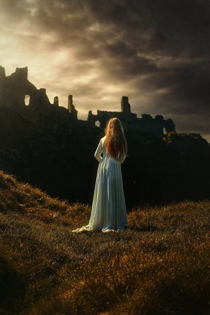 Fine Art Photography At Dunluce Castle In Ireland