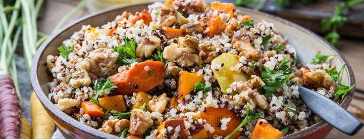 Quinoa aux légumes d'hiver rôtis   Recette en 2020 ...