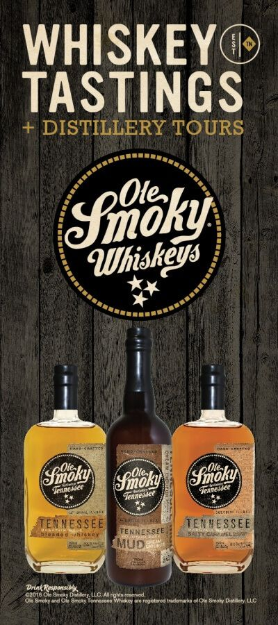 Ole Smoky Whiskey Distillery in Gatlinburg, TN