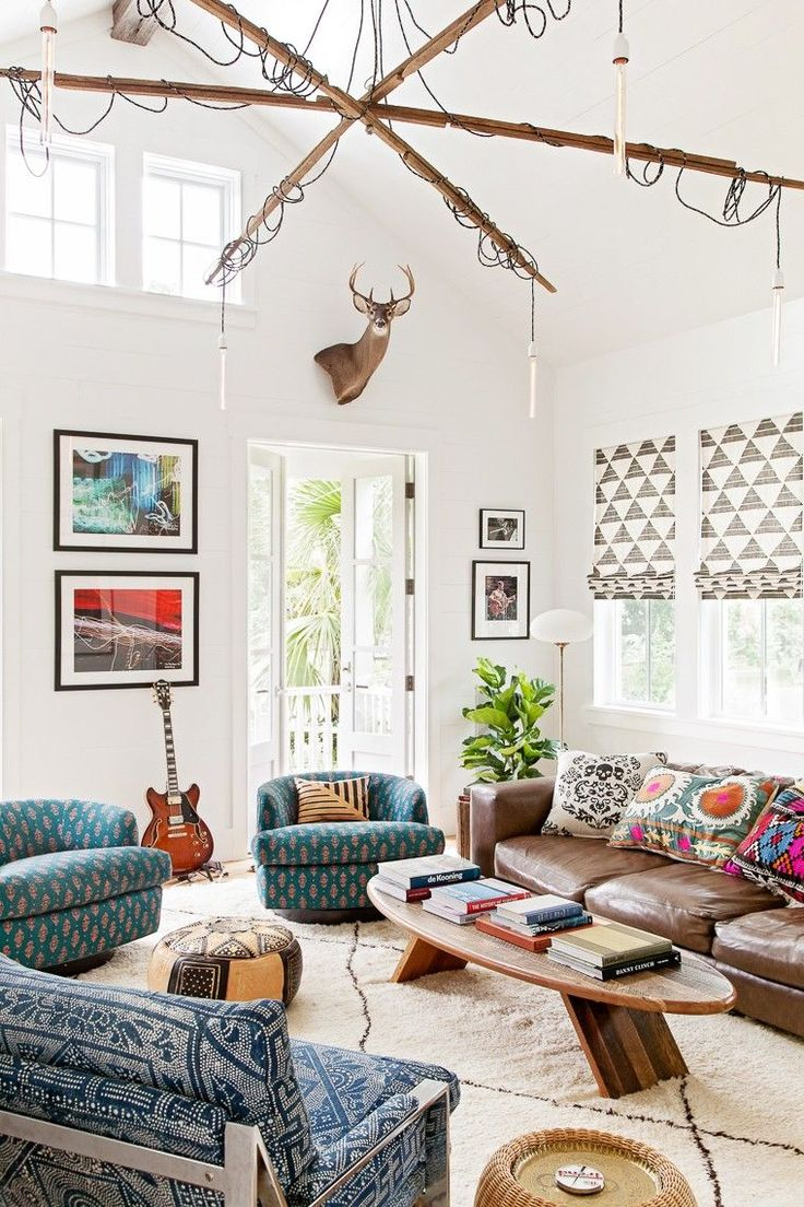 This Interior Designer's Charleston Home Breaks Every Rule–and It's Good via @MyDomaine