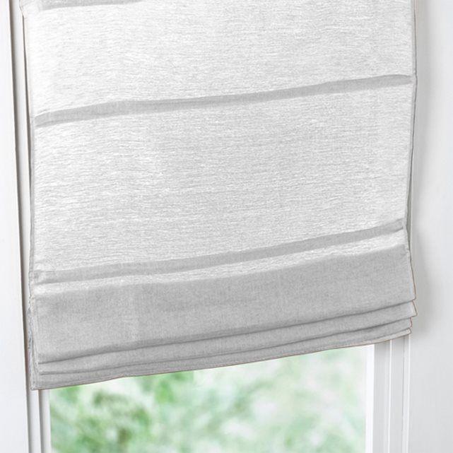 Raffrollo, Etamin, Leinen/Baumwolle La Redoute Interieurs : Preis & Lieferung. Raffrollo aus Halbleinen. Das schöne Naturmaterial überzeugt durch seinen perfekten Fall, das luftige Gewebe sorgt für einen gedämpften Lichteinfall. DETAILS: - Etamin, 60% Leinen, 40% Baumwolle. - Lichtdurchlässiges Gewebe für sanften Lichteinfall. - Gerader Saum. - Stäbe herausnehmbar. - Seilzugmechanismus. - Pflegeleicht: Maschinenwäsche max. 40°C, knitterarm, bü...