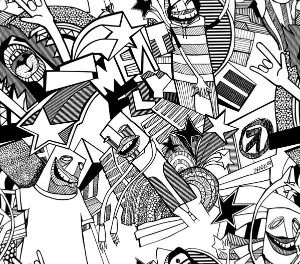 "Meatfly ""cityboi"" pattern by yVANs"