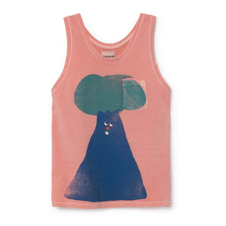 Organic Cotton Tree Vest Top-product