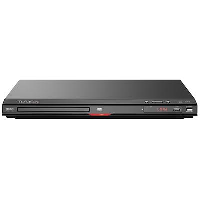 Turbo-X DV-HD100 DVD Player. Με τεχνολογία που αναβαθμίζει την ποιότητα των ταινιών σε 1080p & απευθείας αναπαραγωγή από USB.