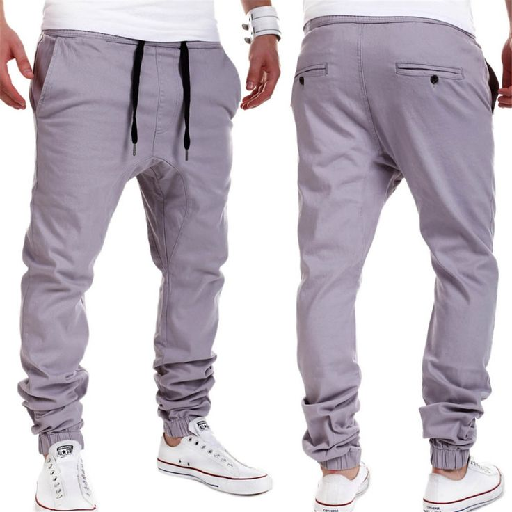 ==> [Free Shipping] Buy Best 2016 New Arrival Men Harem Pants Cotton Solid Men Jogger Pants Cheap Male Clothing Sweatpants For Man Online with LOWEST Price | 32652398696