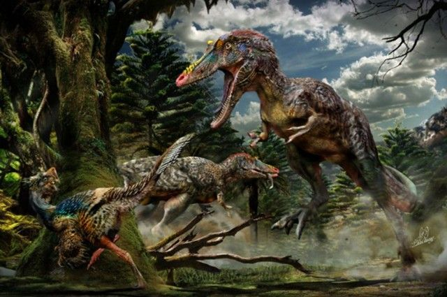 """New Tyrannosaur Nicknamed """"Pinocchio rex"""" Discovered In China 