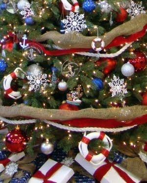 Nautical Christmas Theme.Nautical Christmas Ornaments Anchors Away Christmas