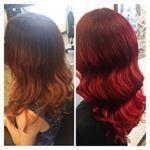 c o l o u r  r e v a m p  loving this fiery red   Hairdresser Sally  lakme adelaidehairsalon