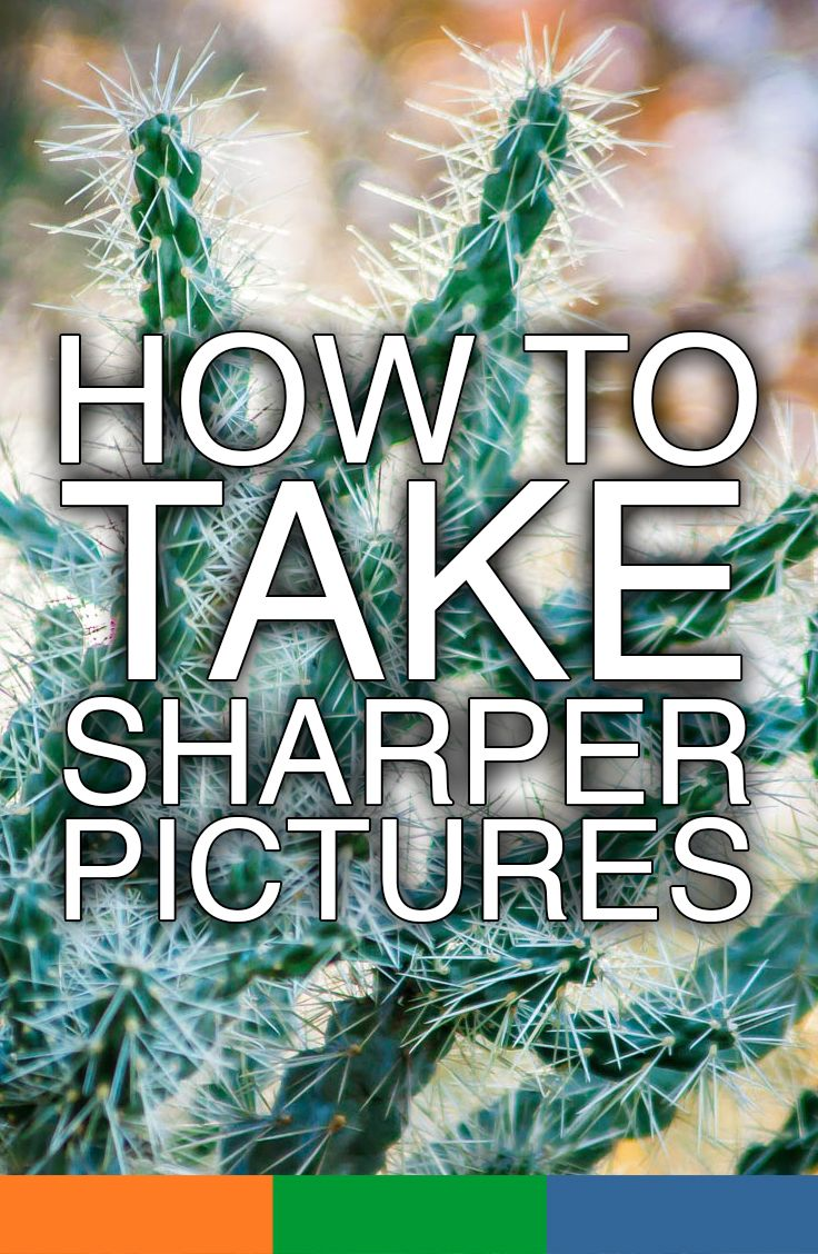 5 Tricks to help you take Sharper Pictures