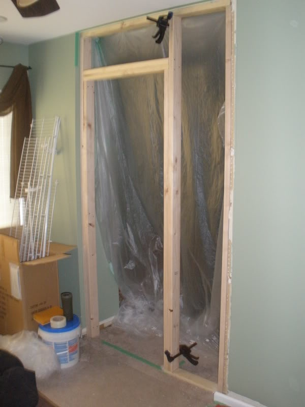 Securing Framing Thru Existing Drywall To Add Wall   DoItYourself.com  Community Forums