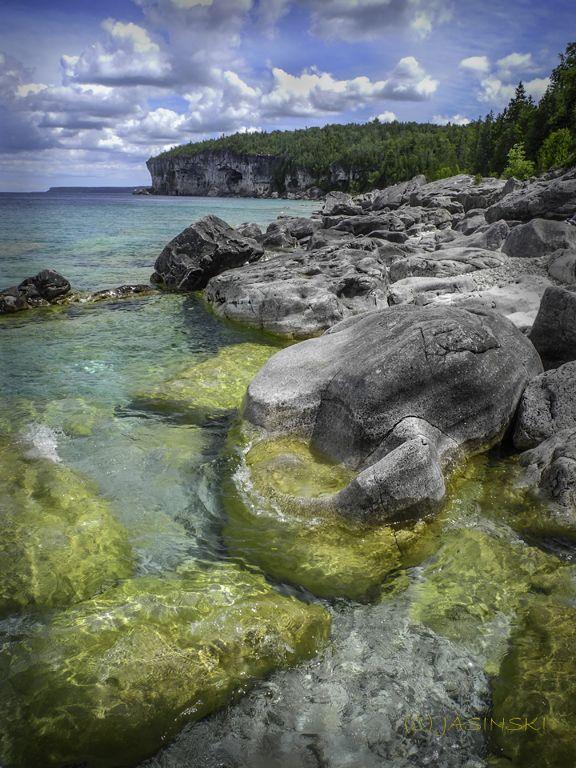 Bruce Trail, Bruce Peninsula, Bruce Peninsula National Park, Georgian Bay, Lake Huron