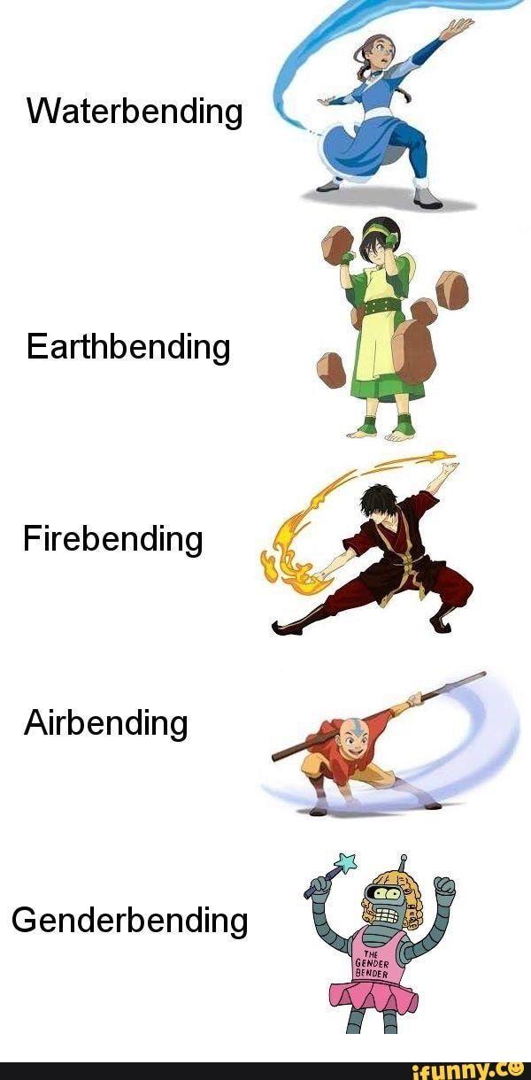 Waterbending Earthbending Firebending Airbending Genderbending Ifunny Water Bender Avatar The Last Airbender Superhero Design Earthbending toss (combo ability) 1.1. water bender avatar the last airbender