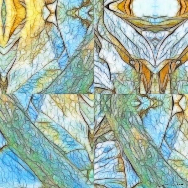 To Sleep , Perhaps To dream ...  Digital Artwork over original photo 50 x 50 cm  rcn