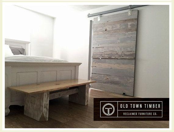 Bonificata Cedar White Wash fienile porta di OldTownTimber su Etsy