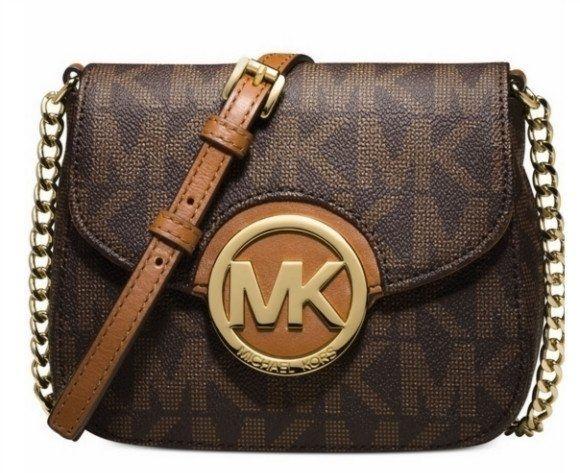 Michael Kor's Mini clutch crossbody Handbag...FREE SHIPPING...