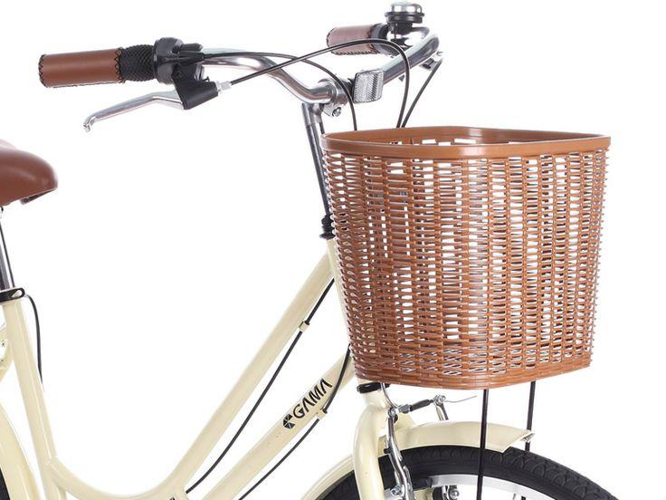 Classic Mujer Ciudad Crema te acompaña a mirar la vida desde sus dos ruedas. #especialgamamujeres gamabikes.com