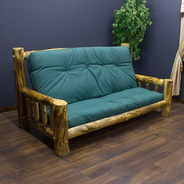 Beartooth Aspen Log Futon Rustic Furniture Aspen And Logs