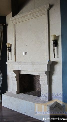 125 Best High End Architectural Stone Fireplace Images On