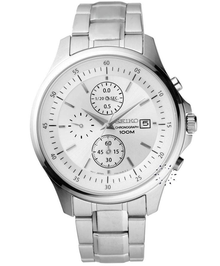 SEIKO Chronograph Stainless Steel Bracelet Η τιμή μας: 149€ http://www.oroloi.gr/product_info.php?products_id=33904
