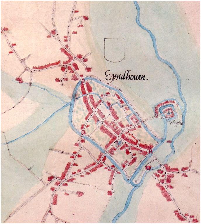 Inname van de stad Eindhoven door de graaf van Mansfelt