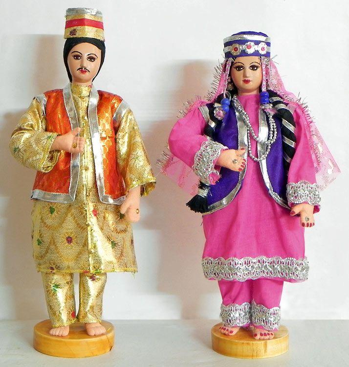 Story Of A Kashmiri S Girl By: Kashmiri Bride And Bridegroom (Cloth)