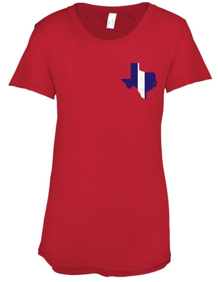Houston Football Red - Womens Crew