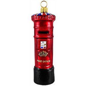 British Royal Mailbox Ornament