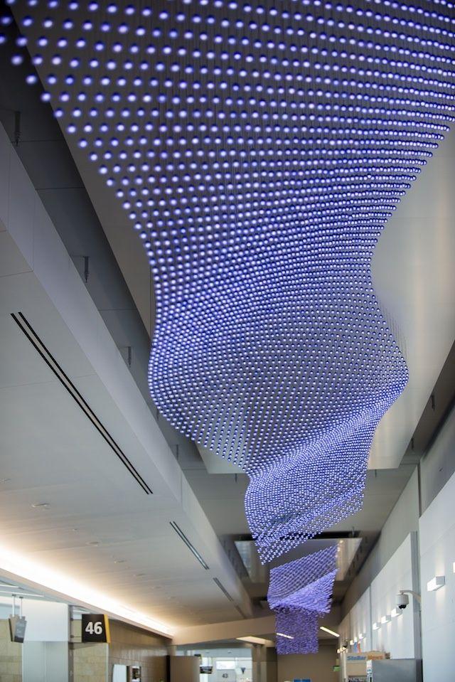 Jim Campbell's Sculptural LED Light Installations | Video | The Creators Project