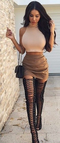 1000  ideas about Thigh High Gladiator Heels on Pinterest | Thigh