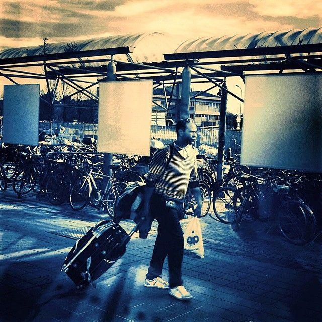 Sì, viaggiare. #Rimini station #FS