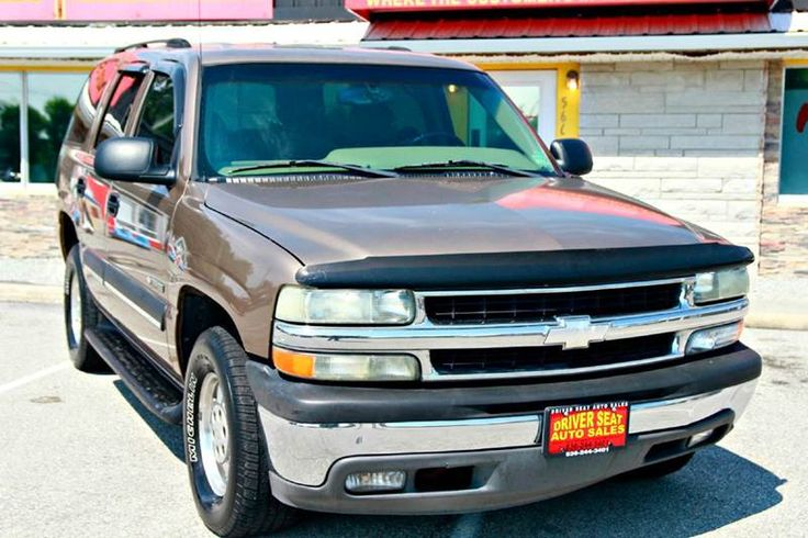 2003 Chevrolet Tahoe LS 4dr SUV **FOR SALE** By Driver Seat Auto Sales - 566 St Peters Howell Rd. St. Charles, MO