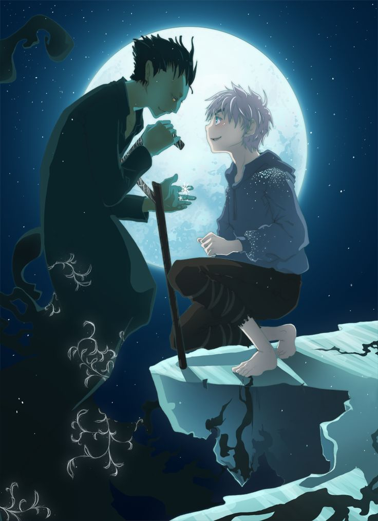 jack frost and pitch black kiss - photo #32