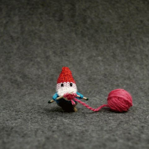 love animation heart stop motion valentine hope craft knitting gnome yarn amigurumi mochimochi trending #GIF on #Giphy via #IFTTT http://gph.is/2eQjoyd