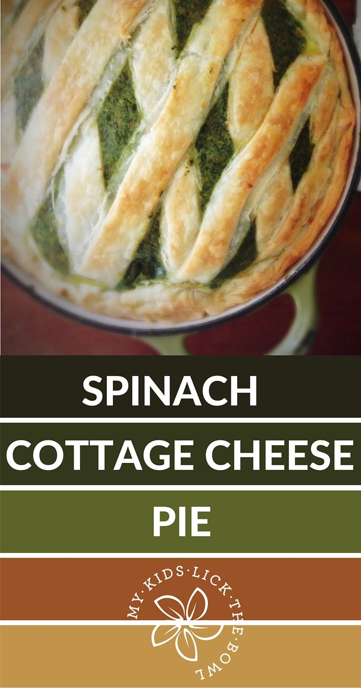 Spinach Cottage Cheese Pie | 5 Every Day Ingredients | Easy | Make it with your Food Processor | Vegetarian Family Meal | 10 Min Prep | My Kids Lick The Bowl | 2016