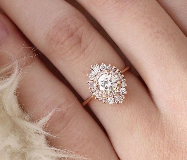 25 best ideas about antique engagement rings on pinterest for Waterfall design ring